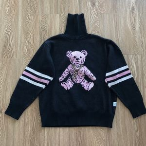 JOYRICH TEDDY TURTLE NECK SWEATER